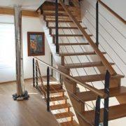 lucas-maison-passive-bois-douarnenez-escalier-bois